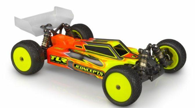 Jconcepts F2 Karosserie für den Team Losi Racing 22X-4