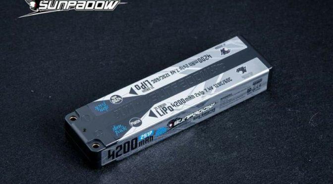 Platin Series Ultra-Narrow LCG Akku von Sunpadow
