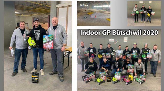 Carsten Keller feiert einen Doppelsieg beim Indoor GP Bütschwil 2020