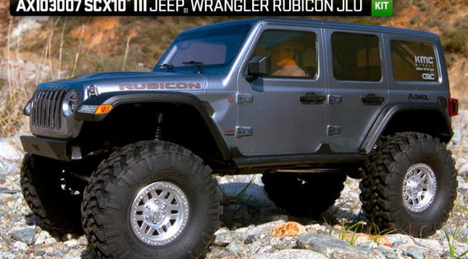 Da ist der Neue – 1/10 scale Axial SCX10 III Jeep JL Wrangler 4WD