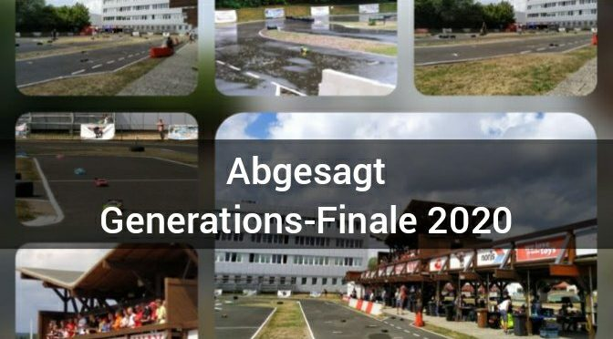 Absage TAMIYA Generations-Finale in Sonneberg 2020