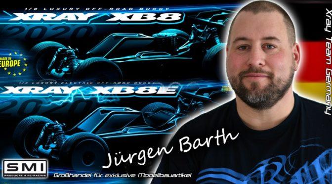 Jürgen Barth jetzt für SMI XRAY Germany Team SÜD am Start