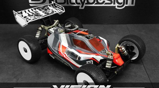 1/8 Buggy VISION Karosserie für den Kyosho MP10 by Bittydesign Co.