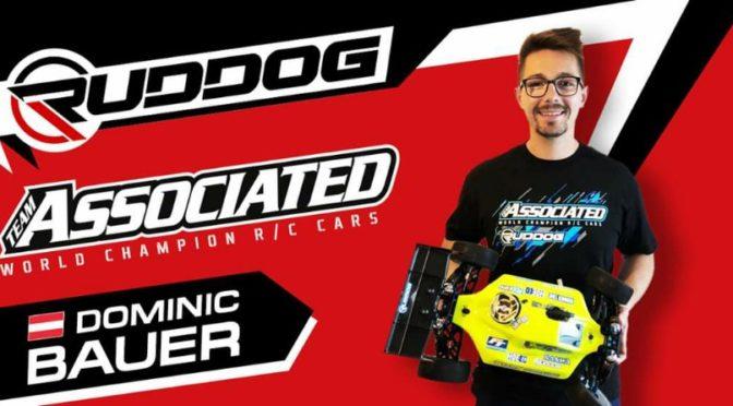 Dominic Bauer im Team RUDDOG Distribution / Team Associated