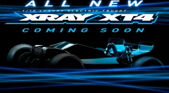 Xray XT4 – Elektro 1/10 4WD Truggy