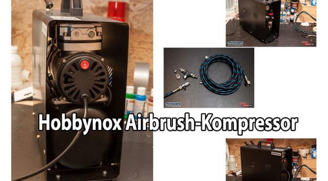 Kompressor für Airbrush und andere Anwendungen von Hobbynox