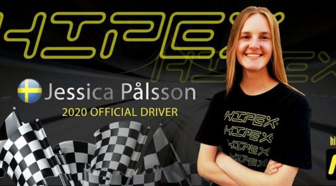 Jessica Palsson im Hipex Team