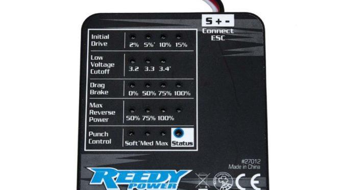 Reedy SC480X Program Card