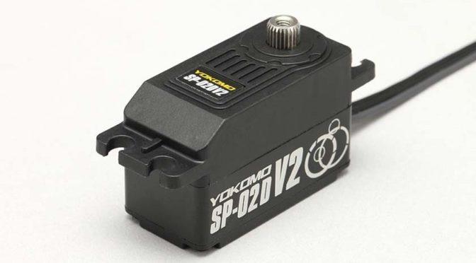 Programmierbares RWD-Driftservo SP-02DV2