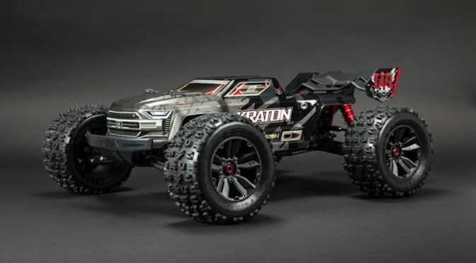 ARRMA® KRATON 1/8 SCALE EXTREME BASH  ROLLER SPEED MONSTER TRUCK 4WD