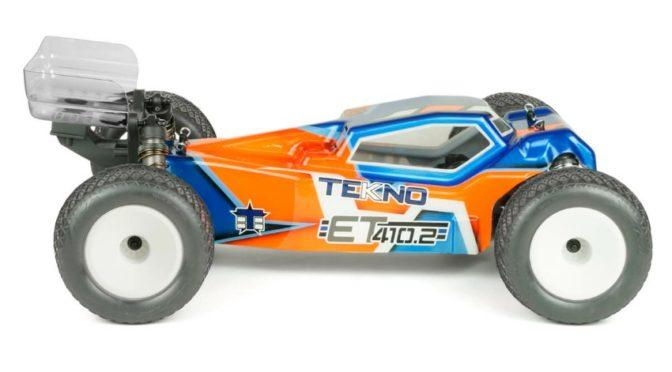 ET410.2 1/10 4WD Competition Elektro Truggy Kit von Tekno RC