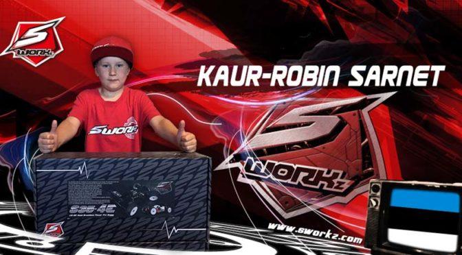 Kaur-Robin Sarnet – Neu im Team bei Sworkz Estonia