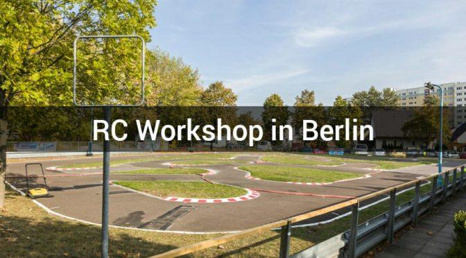 RC Workshop beim 1.MRC