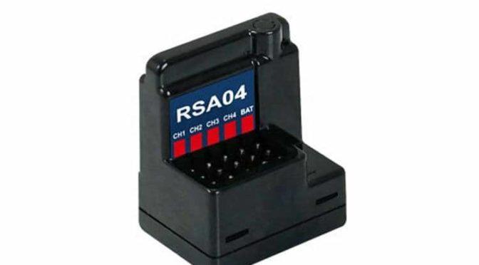 Empfänger RSA04 2.4GHz FH3/FH4T für Sanwa