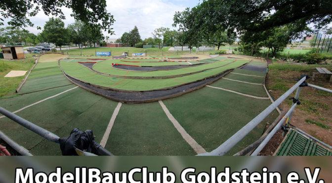 ModellBauClub Goldstein mit umgestalteter Offroad Strecke