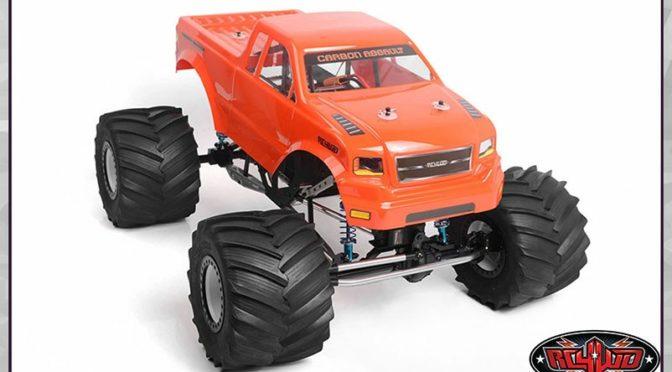 RC4WD Carbon Assault 1/10th Monster Truck w/ Manticore Lexan Body Set