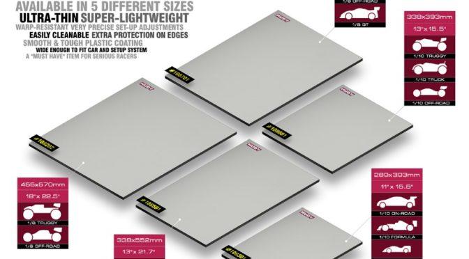 HUDY Flat Set-Up Board – Lightweight – Grey