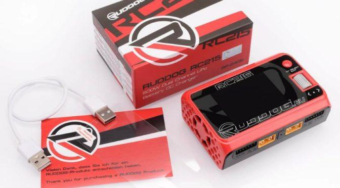 RUDDOG RC215 500W Dual Channel LiPo-Akku DC Ladegerät