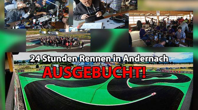 Zum 21.Mal startet das 24-STUNDEN-RENNEN erneut in Andernach – AUSGEBUCHT!