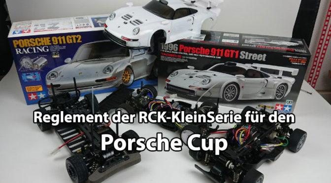 Das Reglement der Porsche Cup Klasse der RCK-KLEINSERIE ist online