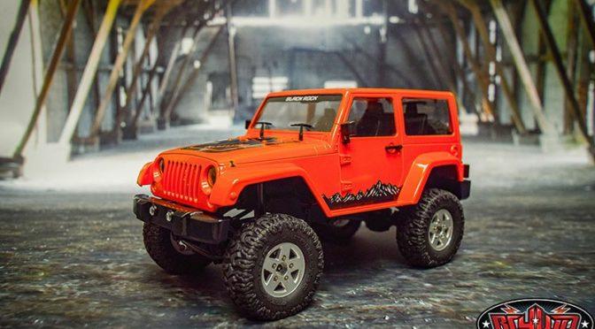 RC4WD 1/18 Gelande II RTR w/ Black Rock von RC4WD