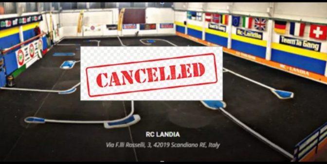 Absage des EFRA GT12 2020 bei RC Landia, Italien
