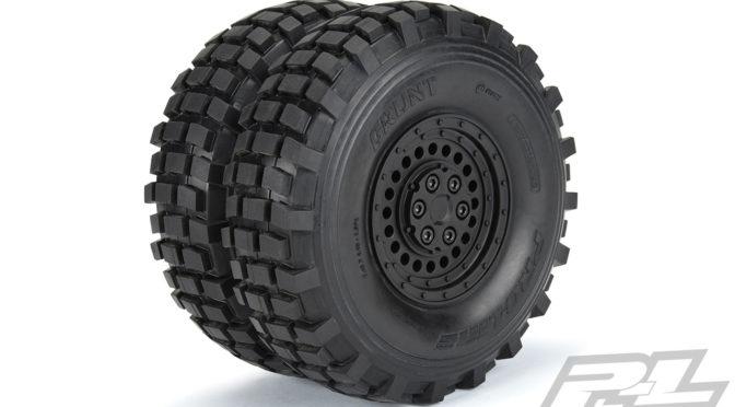 Carbine 1.9″ Black Plastic Internal Bead-Loc Dually Wheels