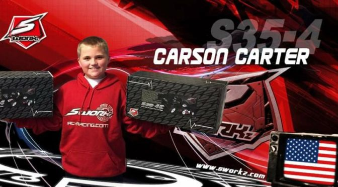 Carson Carter im SWORKz US 1/8 Team