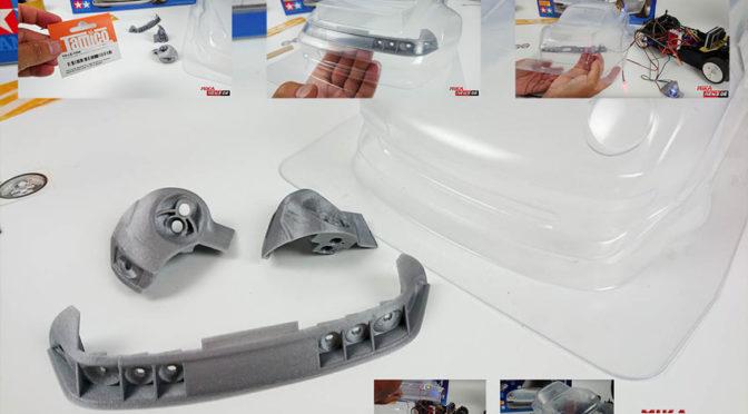 Lichteinbausatz für den Tamiya Porsche 911 GT2 von Tamico