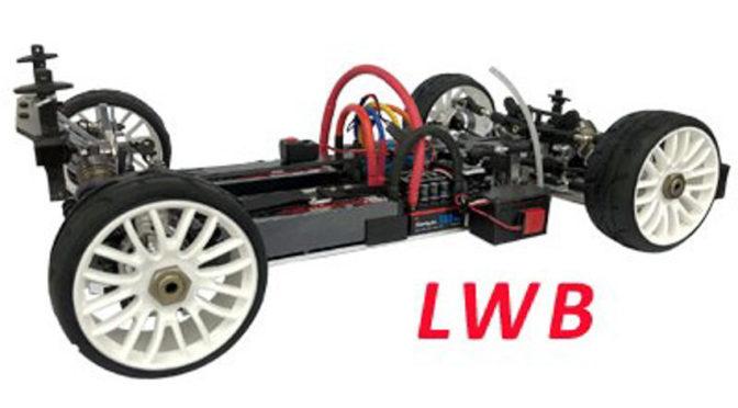 EGX-1 1/8 LWB 4WD GT Elektro Chassiskit (langer Radstand 358mm)