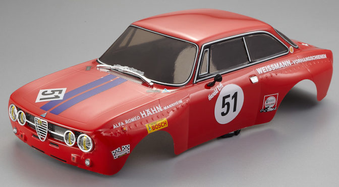 Killerbody Alfa Romeo 2000 GTAm Karosserie Rot