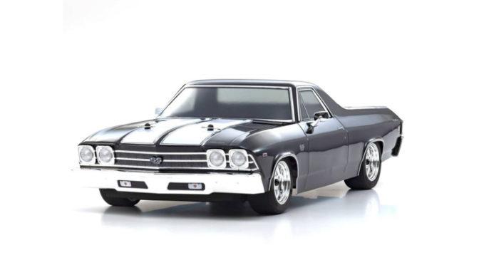 1969 Chevy® El Camino® SS 396® Tuxedo Black von Kyosho