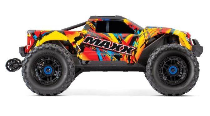 TRAXXAS MAXX 1:10 RTR Monster-Truck Brushless im Solar Flare Design