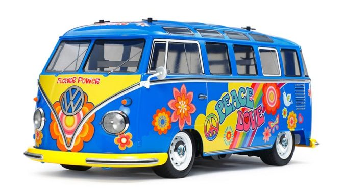 1/10 Volkswagen Type 2 (T1) Flower Power (M-05)