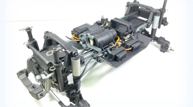 ABSIMA CR3.4 PRE-ASSEMBLED CHASSIS