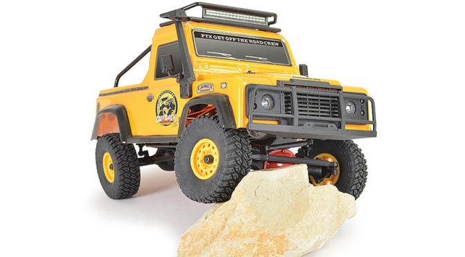 FTX OUTBACK RANGER XC PICK UP RTR 1:16 TRAIL CRAWLER – YELLOW