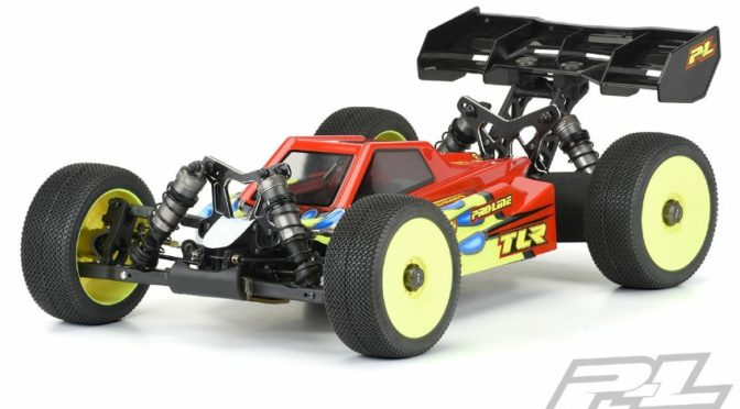 Axis Karosserie für den TLR 8ight-XE
