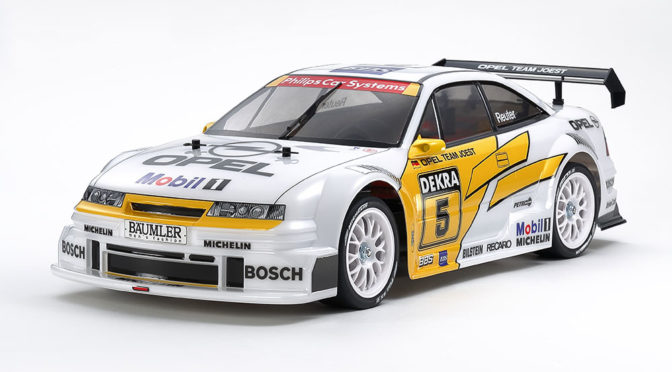 Spielwarenmesse 2021 – 1:10 RC Opel Calibra V6 (TA02) 4WD