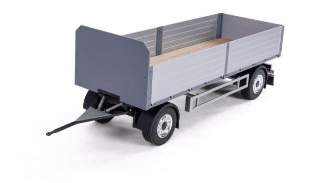 Spielwarenmesse 2021 – 1:14 2-Achs Baustoff-Anhänger von Carson Modellsport