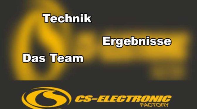 Neues gibt es vom CS-Racing Team