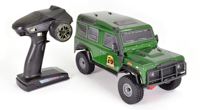 FTX OUTBACK RANGER XC RTR 1:16 TRAIL CRAWLER – GREEN