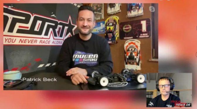 Interview mit Patrick Beck zum Mugen MTC2