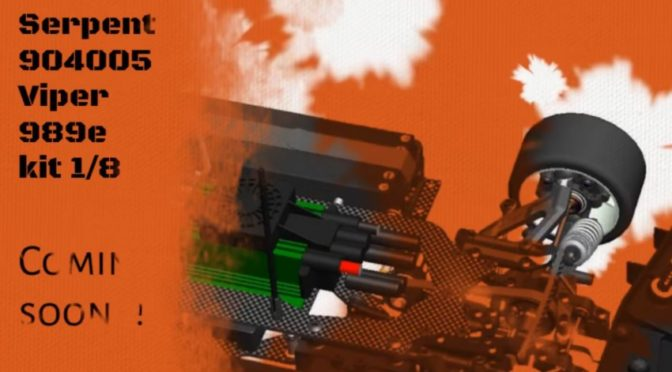 Viper 989-e 1/8 4wd EP – coming soon