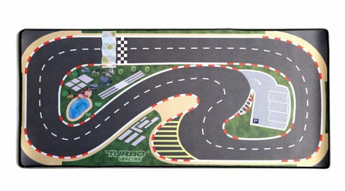 Strecke für den Turbo Racer