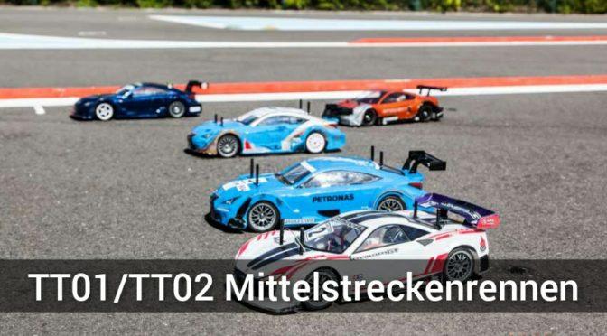 Tamiya TT01/TT02 Mittelstreckenrennen für 2 Personen Teams