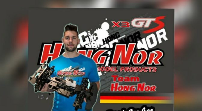 Toni Gruber startet mit dem Hong Nor X3 GT in GT 1/8