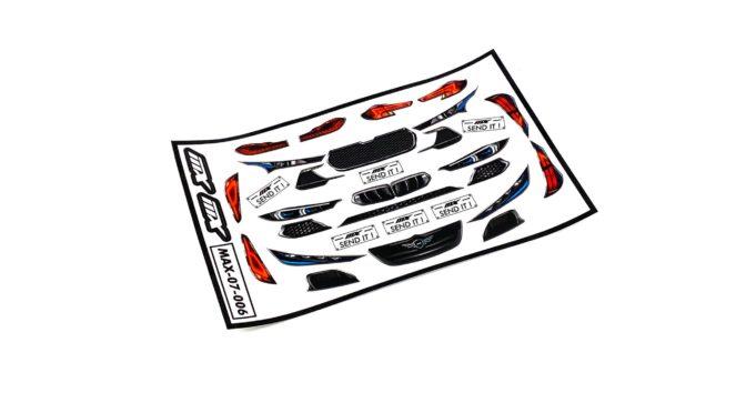 RACE HEADLIGHT STICKER von MXLR