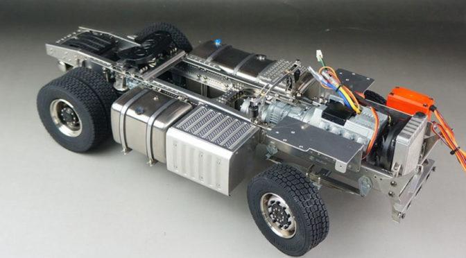 1:14 4×4-Fahrgestell für Mercedes Actros ScaleClub