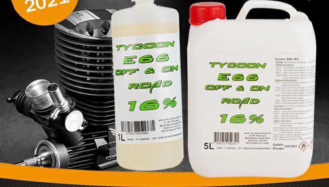 Geschafft – Tycoon E66 Bio-Treibstoff jetzt mit 16% NM erhältlich