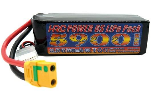 4S Lipo-Akku von HRC RACING